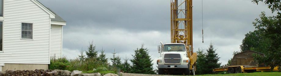 Well drilling services in Maine